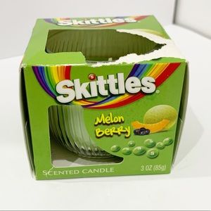 Skittles Mellon berry scented candle new